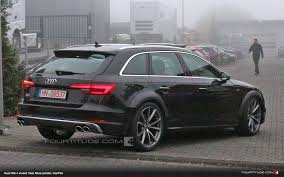 breaking audi rs 4 avant b9 spied near nurburgring this morning