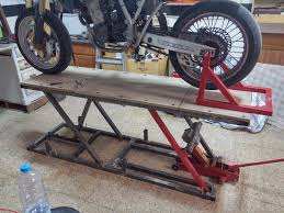Motorcycle Bench Lift 156 Best Homemade Motorcycle Lifts Stands And Dollies Images On