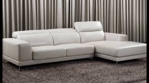 Corner Unit Settees Small Leather Corner Sofas Youtube