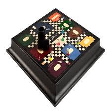 Office Desk Games by Geoffrey Parker Luxury Leather Cluedo