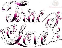true love true love tattoo design that special one in my life
