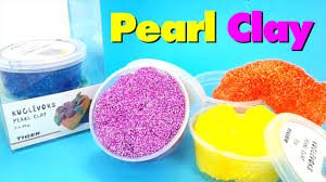 foam pearl clay unboxing