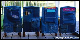 How To Make Chair Covers How To Make Chair Covers With Recycled Denim Jeans How To