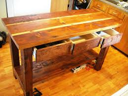 how to build a kitchen island cart reclaimed wood kitchen island cart designs ideas team galatea