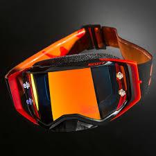 motocross goggles ebay scott prospect mx motocross enduro motocross goggles black neon red