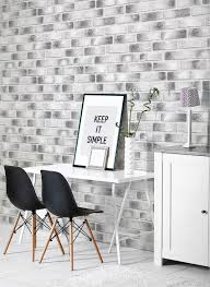 Self Stick Wallpaper by Modern Black Brick Contact Paper Peel And Stick Wallpaper
