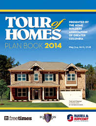 2014 tour of homes planbook by building industry association of