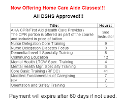 nursing assistant training kent wa
