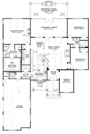 fireplace floor plan ranch style house plan 3 beds 2 5 baths 2879 sq ft plan 17 3367