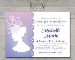 big hat brunch invitations fancy hat bridal shower invitations sempak 6c870ea5e502