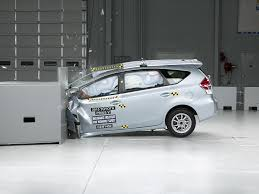 toyota prius v safety rating 2015 prius v driver side small overlap iihs crash test