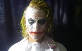 Heath Ledger Joker Halloween Costume Heath Ledger Custom 1 6 Scale Head Joker Hair
