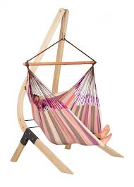 Chair Hammock With Stand Domingo Plum Lounger Hammock Chair With Fsc Certified Spruce Stand