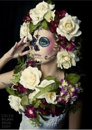 Halloween Makeup Day Of The Dead by Beautiful The Flower Arrangements Are Amazing Butterfly Woman