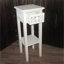 cottage house style telephone table white 25 5x10x10