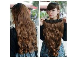 hair extensions styles one new synthetic curly wave clip in hair extensions