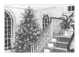 dana morris pen and ink christmas card illustrations
