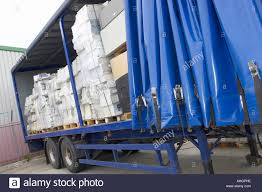 curtain side trailer stock photos u0026 curtain side trailer stock