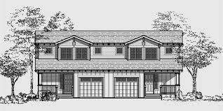 bungalow style homes floor plans craftsman duplex house plans bungalow duplex house plans d 447