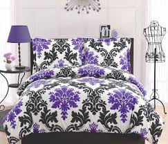 bed comforter sets for teenage girls bedding teen duvet covers elegant black white dot scroll