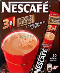 Coffee Mix nescafe nestle brown sugar 3 in 1 instant coffee mix box of 20