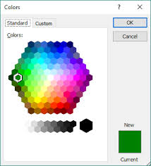 show color palette dialog box with vba xldialogeditcolor wellsr com