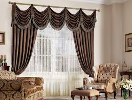 Brown And White Striped Curtains White Black Striped Curtains Decor Rectangular Brown Fabric