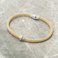 gold zircon rings images Diamond cut gold bracelet with zircon ring loel co JPG