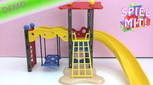 Kinderzimmer Schaukel Playmobil Spielplatz Teil 1 Unboxing Und Aufbau Spielplatz Mit