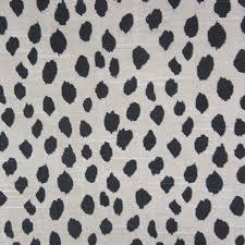 Black Drapery Fabric Dalmatian Fabric Dog Print Fabric Buyfabrics Com