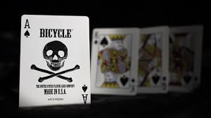 bicycle skull cards