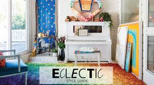 eclectic style interior design style guide eclectic furniture hm etc