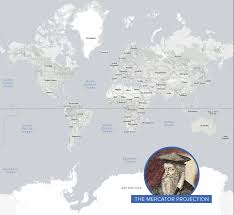 Colombia On A World Map by The Problem With Our Maps Stratfor Worldview