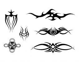 tribal shoulder templates get it on tops tribal