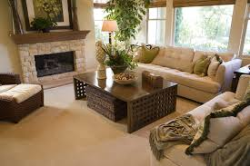 spacious living room with a fireplace u2039 do it green carpet
