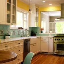 backsplash for yellow kitchen photos hgtv