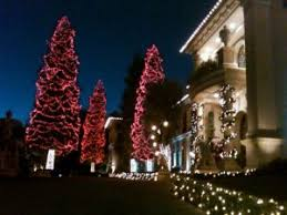hollywood hills the christmas lights guy