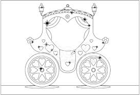 carriage color clipart
