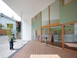 architecture comfortable open kawachinagano home terrace designed
