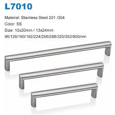 Kitchen Door Furniture Stainless Steel Kitchen Cupboard Door Handles Ss L7010