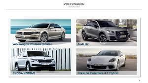 volkswagen china volkswagen ag adr 2016 q3 results earnings call slides