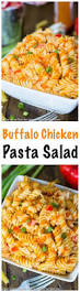 easy pasta salad buffalo chicken pasta salad spend with pennies