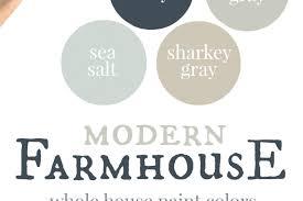 modern farmhouse colors our house modern farmhouse paint colors christinas modern