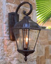 outdoor wall lantern lights medstead black exterior half lantern wall light with pir 1573br