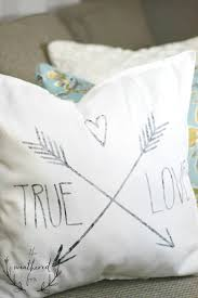 stencil pillow diy create and share challenge the weathered fox