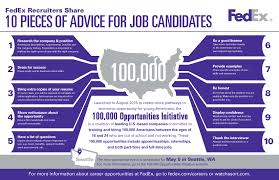 Bring Resume To Interview Fedex Recruiters Share 10 Pieces Of Advice For Job Candidates