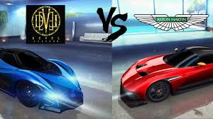 custom aston martin vulcan asphalt 8 aston martin vulcan vs devel 16 prototype azure coast