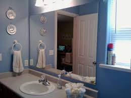 bathrooms design frameless mirror home depot bathroom mirrors