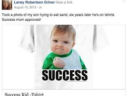 Success Meme Baby - success kid boy raises 90k for dad s kidney