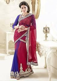 half sarees sarees online half sarees sarees shopping voonik india